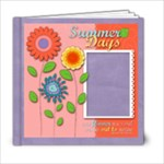 6x6 Summer Days, Flowers Album - 6x6 Photo Book (20 pages)