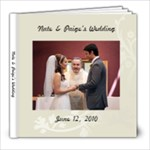 N&P Wedding - 8x8 Photo Book (39 pages)
