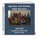 OACHE 2010-2011 - 8x8 Photo Book (39 pages)
