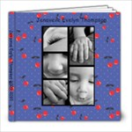 Jenaveve 1st Year photo book - 8x8 Photo Book (39 pages)