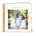 Tea Party for 3 - 6x6 Photo Book (20 pages)