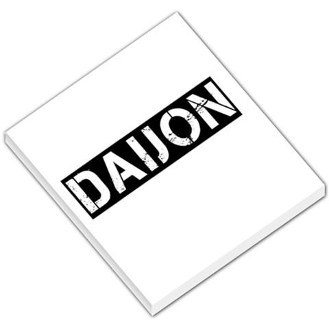 Daijon By Crinsenz Tha Don   Small Memo Pads   Uioreufxrjsk   Www Artscow Com