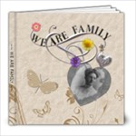 We Are Family 8x8 Photo Book - 8x8 Photo Book (20 pages)