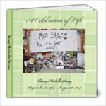 Tracy Funeral - 8x8 Photo Book (20 pages)