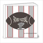 FatherFootballCrimson - 6x6 Photo Book (20 pages)