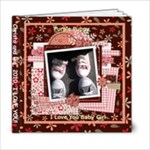 6x6_Pretty Little Girl - 6x6 Photo Book (20 pages)