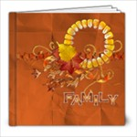 8x8 Fall/Autumn/Family album - 8x8 Photo Book (20 pages)