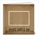 Christmas 6x6 Book - 6x6 Photo Book (20 pages)