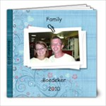 Family photo book - 8x8 Photo Book (20 pages)