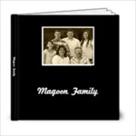 Basic Black & White Sample Album ivona - 6x6 Photo Book (20 pages)