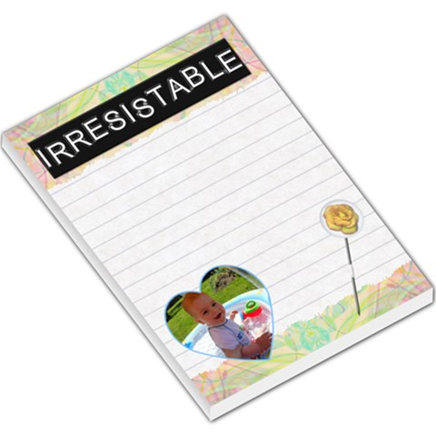 Irresistable Large Memo Pad By Lil    Large Memo Pads   Cgi70pylodfg   Www Artscow Com