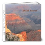 Grand Canyon - 8x8 Photo Book (20 pages)