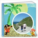 Pirate Pete 12 x 12 By the Sea Book - 12x12 Photo Book (20 pages)
