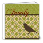 Family - 8x8 Photo Book (60 pages)