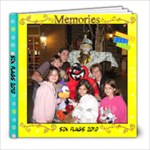 Six Flags 2010 - 8x8 Photo Book (20 pages)