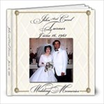mom and dad wedding - 8x8 Photo Book (20 pages)