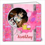 8x8 20 pages birthday girl 2 - 8x8 Photo Book (20 pages)