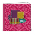 Kelly Anne Book 6x6 20 page - 6x6 Photo Book (20 pages)