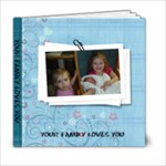 FAMILY PHOTO GIFT BOOK - 6x6 Photo Book (20 pages)