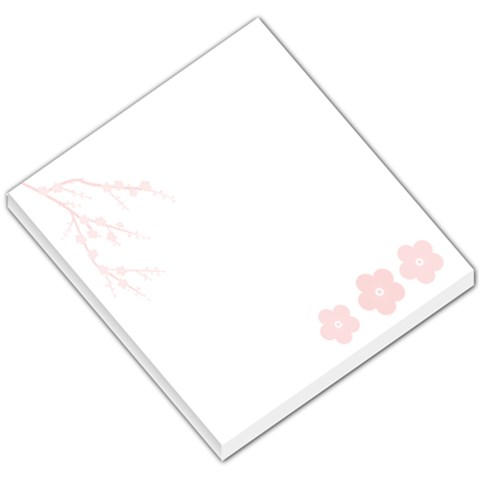 Cherry Blossom By Jackie Sanchez   Small Memo Pads   Ytitescfur4t   Www Artscow Com