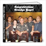Grandpa Retirement - 8x8 Photo Book (39 pages)