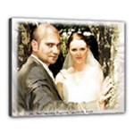 Wojcik Iwanowski Wedding  - Canvas 20  x 16  (Stretched)