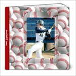 baseball 8x8 photo book - 8x8 Photo Book (20 pages)