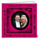 Fantasia Perfect Day Cerise Wedding Album 12 x 12 40 page - 12x12 Photo Book (40 pages)