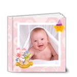 Blanky Bunny baby girls brag book 4 x 4 20 page - 4x4 Deluxe Photo Book (20 pages)