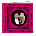 Fantasia Perfect Day Cerise Wedding Album 8 x 8 39 page - 8x8 Photo Book (39 pages)