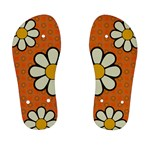 Kid Orange Flower Flip Flops - Kid s Flip Flops