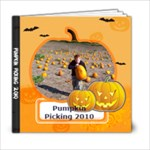 pumpkin book 6x6 2 - 6x6 Photo Book (20 pages)