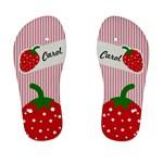 strawberries flip flops 01 - Kid s Flip Flops