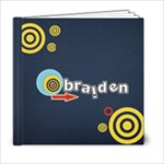 6 x 6 (20pages)- Template BRAIDEN - 6x6 Photo Book (20 pages)
