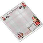 I Love Christmas Remember when old fashioned santa memo pad - Small Memo Pads