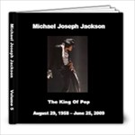 Michael Jackson 5 - 8x8 Photo Book (20 pages)