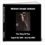 Michael  Jackson 6 - 8x8 Photo Book (20 pages)