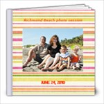 Richmond Beach Photo Session book - 8x8 Photo Book (39 pages)