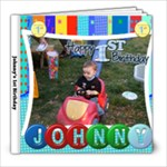 Johnny s 1st Birthday - 8x8 Photo Book (20 pages)