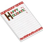 Happy Holidays Large Memo Pad - Large Memo Pads