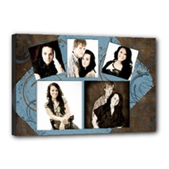senior canvas template - Canvas 18  x 12  (Stretched)