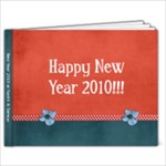 Happy New Year 2010! - 9x7 Photo Book (20 pages)