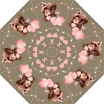 Breast Cancer Awareness Pink Ribbon Umbrella - Folding Umbrella