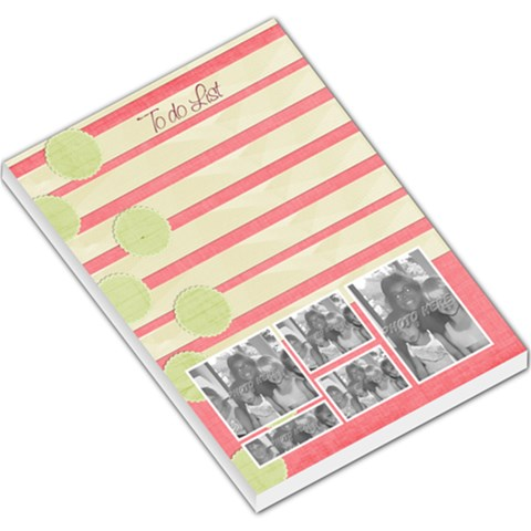 To Do List  By Brookieadkins Yahoo Com   Large Memo Pads   8revyqph5cte   Www Artscow Com