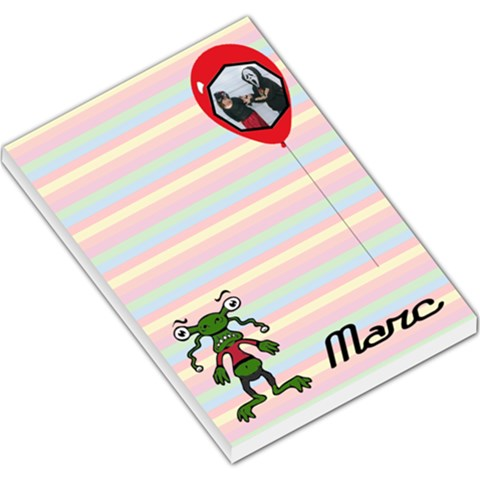 Marc   Memopad By Carmensita   Large Memo Pads   Fsvoyn3qzh8w   Www Artscow Com