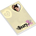 I love you beary much - Memopad - Large Memo Pads