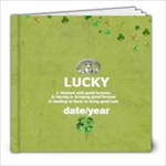 {ScrapDZines} Lucky Photo Book - 8x8 Photo Book (20 pages)
