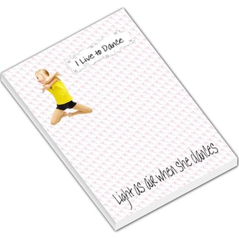 Mckenzie Notepad By Danielle Christiansen   Large Memo Pads   Ojb4n00au4ik   Www Artscow Com