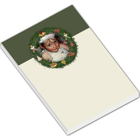 Wreath Pad By Lillyskite   Large Memo Pads   Kztro77o1py1   Www Artscow Com