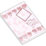 my heart belongs to you memo pad 2 - Large Memo Pads